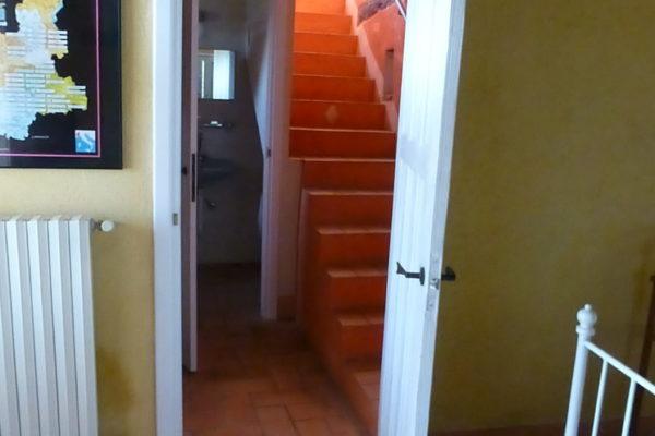 slaapkamer bg richting trap la casa vecchia