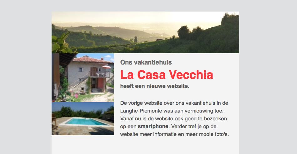 nieuwsbrief1 La Casa Vecchia