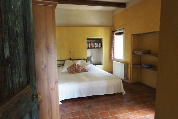 slaapkamer eerste verdieping La Casa Vecchia