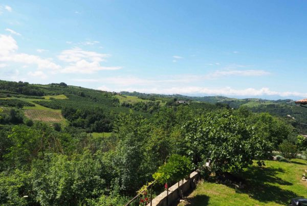 uitzicht vanaf balkon La casa Vecchia